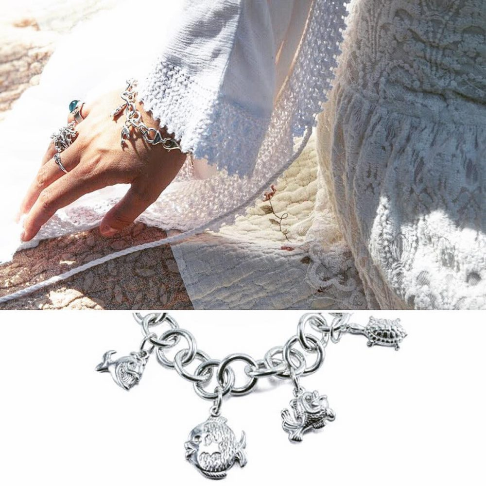 šperky milan jiříček náramek rybičky boho style