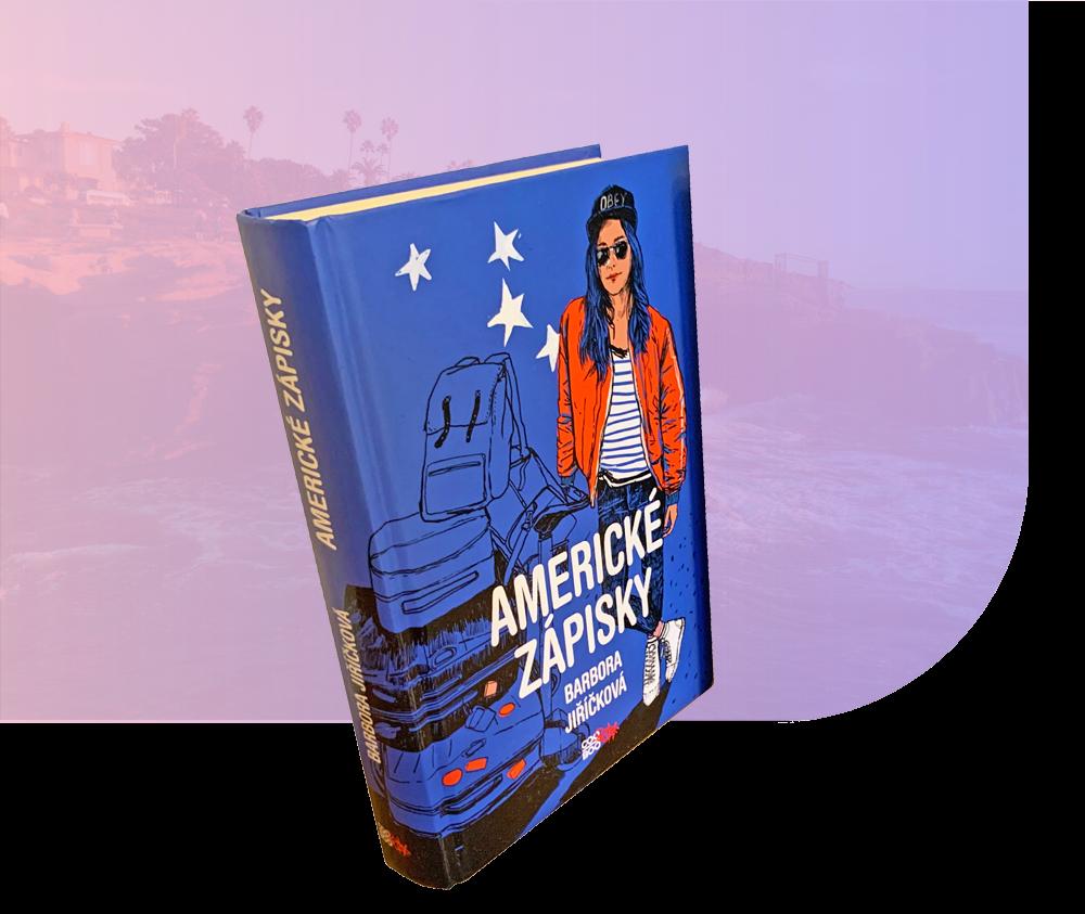 americké zápisky kniha barbora jiříčková