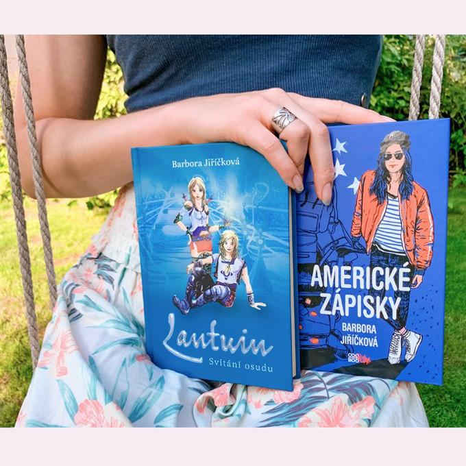 barbora jiříčková lantuin americké zápisky tipy na vánoční dárky 2020 knihy dárek