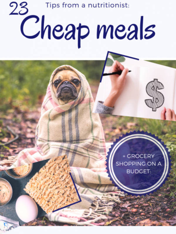 23 cheap meal ideas