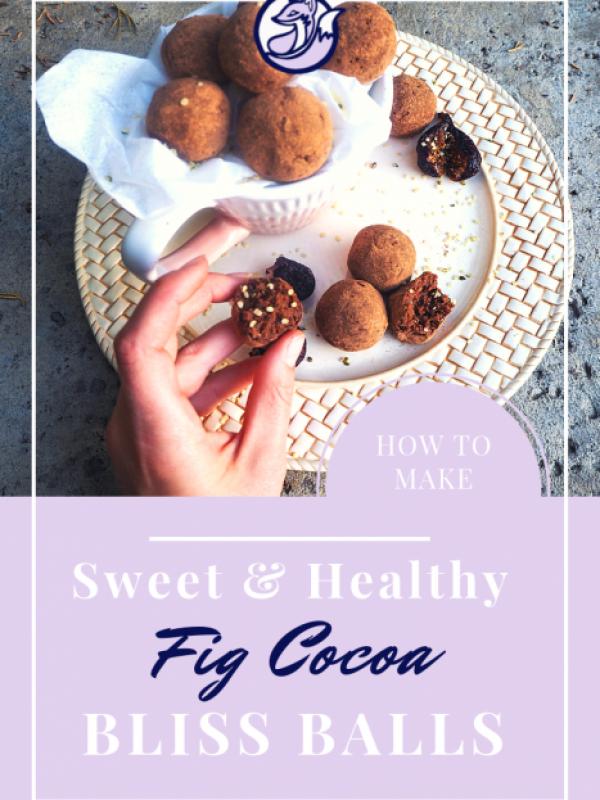 healthy fig cocoa balls