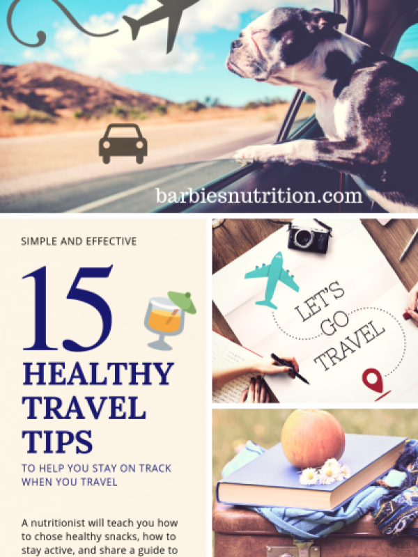 healthy travel tips by barbiesnutrition.com