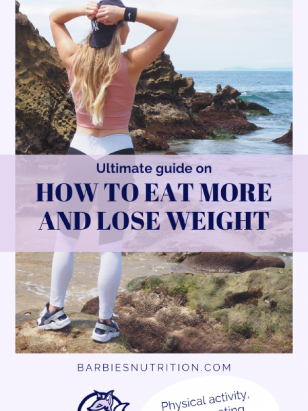 how to eat more and lose weight