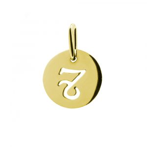 zlatý přívěsek znamení zvěrokruhu kozoroh