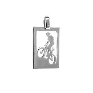 stribrny_privesek_cyklista min